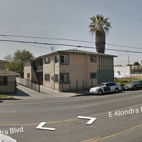 Kendrick Lamar's Childhood Home (StreetView)