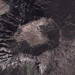 Crater on Halla Mountian (Google Maps)
