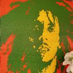 Bob Marley Mosaic (StreetView)