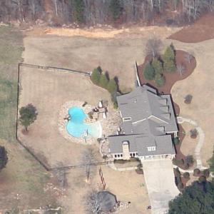 Zac Brown's house (Google Maps)