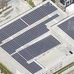Solar Panels on MGM Parking Garage (Google Maps)