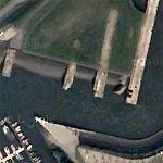 Fink II (Recently rediscovered U-boat pens) (Google Maps)