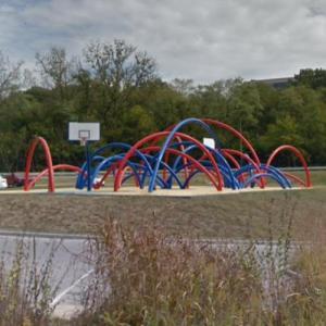 'Free Basket' by Los Carpinteros (StreetView)