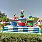 Inflatable castle (StreetView)