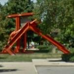 'Helmholtz' by Mark di Suvero (StreetView)