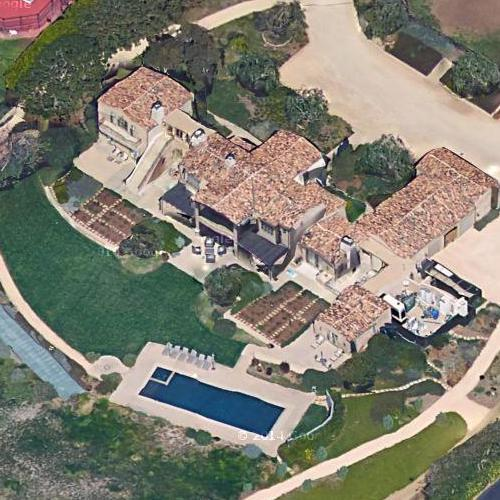 Lady Gaga's House (Google Maps)