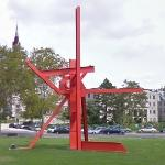 'Iroquois' by Mark di Suvero (StreetView)