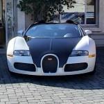 Bugatti Veyron Grand Sport (Pearl White and Uni Black) (StreetView)
