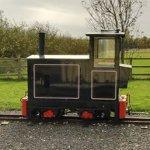 Little switcher locomotive