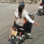 Half man, half woman! (StreetView)