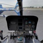 Inside a helicopter (StreetView)