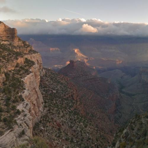 Grand Canyon from Bright Angel Trail (StreetView)
