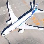 Boeing 787 - All Nippon Airways (Google Maps)