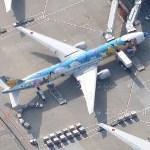 Boeing 777 ''Peace Jet'' (Google Maps)