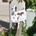 Dalmatian Mailbox (StreetView)