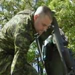 Canadian soldier (StreetView)