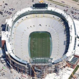Lambeau Field (Google Maps)