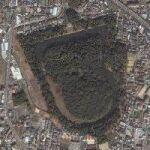 Ojintennoryo(Emperor Ojin's tomb) (Google Maps)