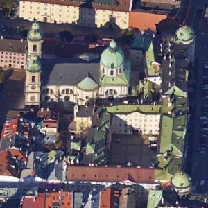 Imperial Hofburg Innsbruck (Google Maps)
