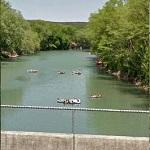 Tubing & Drinking on the Guadalupe River (StreetView)