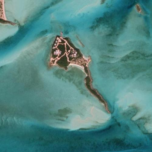 "Tim McGraw & Faith Hill's ""Goat Cay Island"" (Google Maps)"
