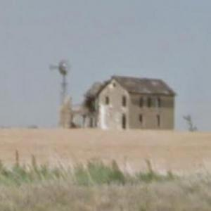 Sugar Shack, abandoned farmhouse (StreetView)