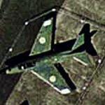 SAAB J32 Lansen 'Lance' (Google Maps)