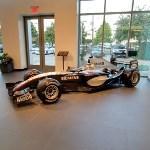 McLaren MP4/19 Formula One car (StreetView)
