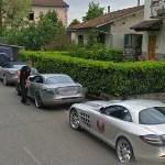 4 x Mercedes-Benz SLR McLaren (StreetView)