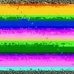 Strange rainbow
