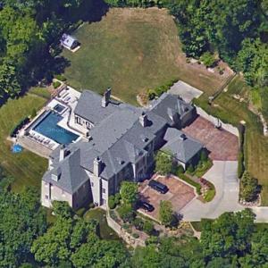 Brandt Snedeker's House (Google Maps)