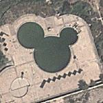 Mickey Mouse Pool (Google Maps)