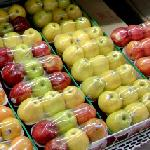 Red and Green apples (StreetView)