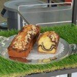 Almond Marble Cake (StreetView)