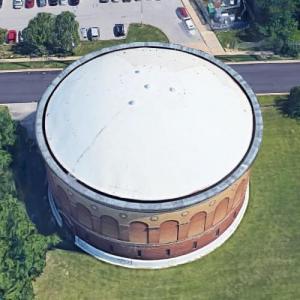 Curtis Bay Water Tank (Google Maps)