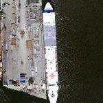 USNS Comfort (T-AH 20) (Google Maps)