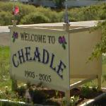 Welcome to Cheadle (StreetView)