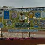 Welcome to Plaquemine (StreetView)