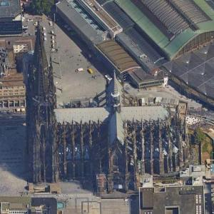 Cologne Cathedral (Google Maps)