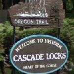 Welcome to Historic Cascade Locks (StreetView)