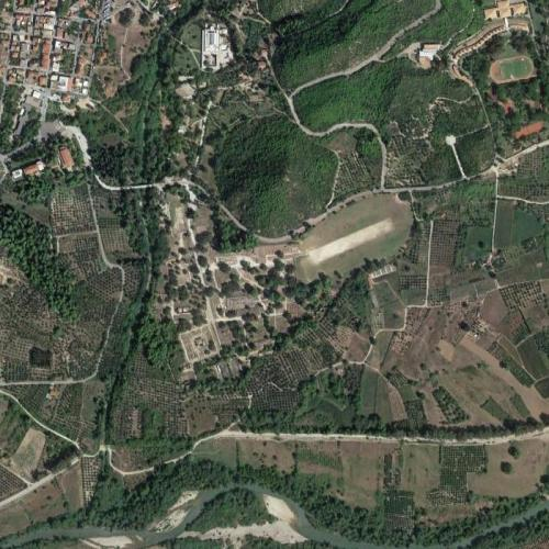 Ruins of Olympia (site of the ancient Olympic Games) (Google Maps)