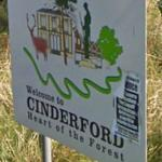 Welcome to Cinderford - Heart of the Forest (StreetView)