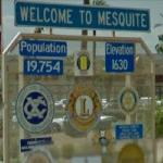 Welcome to Mesquite (StreetView)
