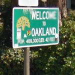 Welcome to Oakland (StreetView)