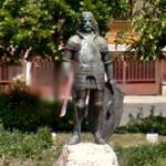 John Hunyadi's statue (StreetView)
