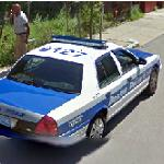 Boston Police car (StreetView)