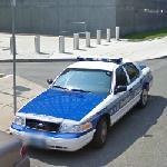 Boston Police Car