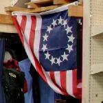 Betsy Ross flag (StreetView)