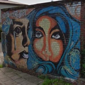 Mural in Lebork (StreetView)