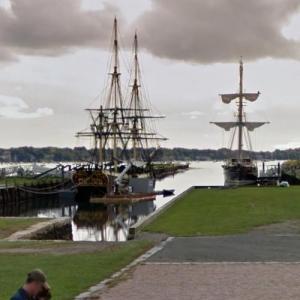 Salem Maritime National Historical site (StreetView)